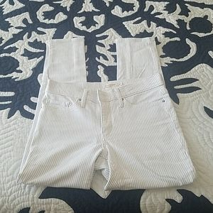 Levi's striped jeans